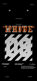 Offwhite wallpaper for Iphone X