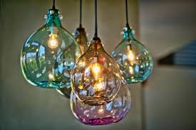 hand blown lighting. perfect hand blown glass pendant lights 21 for your hanging with lighting