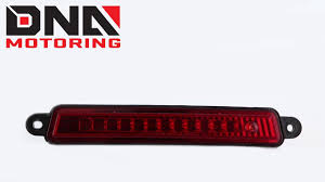 Brake Light On Nissan Armada Dna Motoring 04 15 Nissan Armada Red Led Third Brake Light