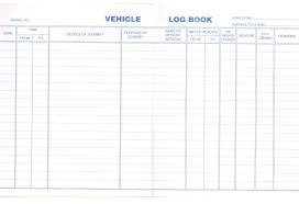 truck log book template