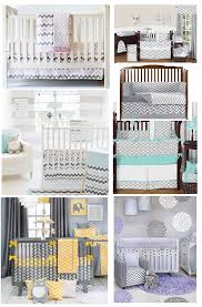 best grey chevron baby bedding for the nursery top rated brands