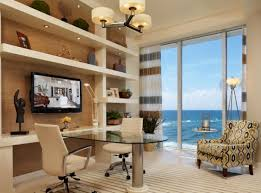 home office small shared. officesmall shared home office with white desk and wall shelves also modern small