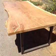 Redwood Slab Dining Table Rustic Dining Table Live Edge Wood Slabs Inspirations Slab Tables