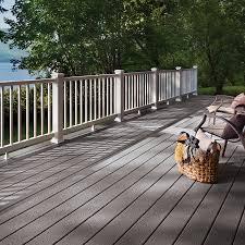 gray composite decking. Simple Composite PEBBLE GREY Throughout Gray Composite Decking R