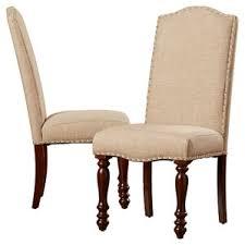 fabric dining chairs with nailheads. lanesboro side chair (set of 2) fabric dining chairs with nailheads