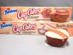 2 pack review hostess limited edition pumpkin e and caramel apple cupcakes snack cellar
