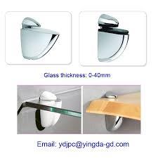 yd 054 clip 8 50mm adjule cabinet glass clips glass shelf holder adjule shelf clips
