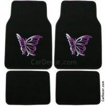 girly car floor mats. Interesting Car Butterfly Purple Car Floor Mat Carpet Girly Accessory And Mats R