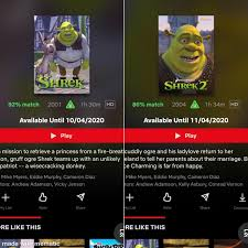 I am sorry to announce, shrek is being removed from Netflix, watch it while  you can. Make the most of it. : Shrek