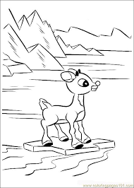 Small Picture Rudolph 40 Coloring Page Free Rudolph the Red Nosed Reindeer