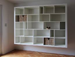 wall mount shelving units
