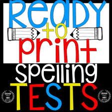 Spelling Test Template Mesmerizing Spelling Test Template Editable Teaching Resources Teachers Pay
