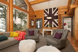 Cool Log Cabin Homes Interior Design Images Inspiration ...