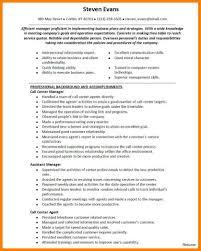 Call Center Resume Sample 100 call center resume samples cashier resumes 55