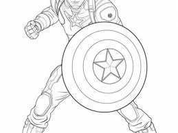 Small Picture Captian America Coloring Pages Superhero Squad Captain America