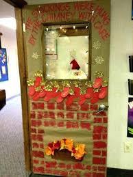 christmas classroom door decorations. Christmas Classroom Door Decorations For Decorating Chimney O