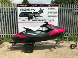 jetski seadoo spark tri spark pink black pwc wet bike gtx arr