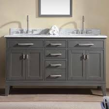 bathroom double sink cabinets. Interesting Sink Save Ari Kitchen U0026 Bath Danny 60 Inside Bathroom Double Sink Cabinets