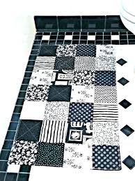 black and white bath rug black and white bath rug gorgeous microfiber blue around black and black and white bath rug