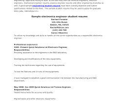 Resume For On Campus Jobs Highchooltudent Resume Format Pdf For Internship Engineering Doc 34