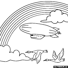 Small Picture Rainbows and Unicorns Online Coloring Pages Page 1
