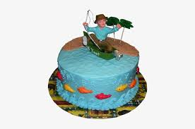 Man Birthday Cake Ideas Birthday Cake Idea Fishing Transparent Png