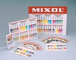 Mixol Tint Color Chart Paint Colors Color Additives Paintpro Magazine