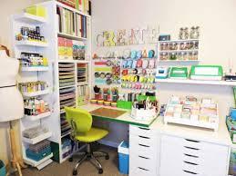 kallax and lack shelves make the best ikea craft room storage