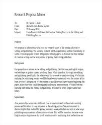 Proposal Memo Examples Samples Research Proposal Memo Example ...