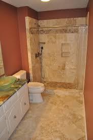 Luxury Bathroom With Tile Floor Bathroom Remodeling Cost - Average price of new bathroom