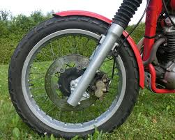 any honda dominator nx650 owners out there page 150 i tried this my second scrambler mainly because i wanted the 19inch slr650 front wheel and i can confirm that the braking power is much better now