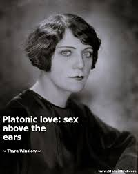 Platonic Love Quotes Adorable Platonic Love Sex Above The Ears StatusMind