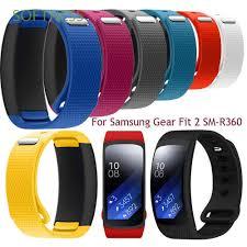 Dây đeo silicon mềm cho đồng hồ thông minh Samsung Gear Fit 2 SM-R360 giảm  chỉ còn 62,800 đ