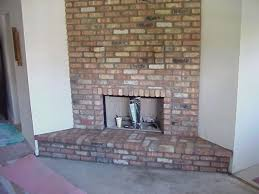 drywall over brick fireplace