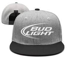 Bud Light Sun Visor Uter Ewjrt Adjustable Bud Light Beer Logo Snapback Hat
