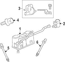 parts com® genuine factory oem 2008 chevrolet bu ltz v6 3 6 diagrams