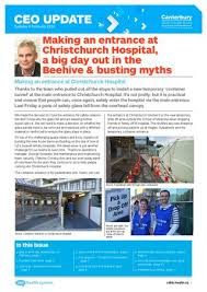 Canterbury DHB CEO Update Tuesday 9 February 2016 by Canterbury ...
