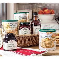 Kitchen Gift Basket Stonewall Kitchen Morning Favorites Gift Basket Gourmet Food