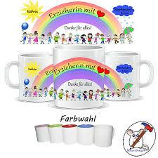 Personalisierte Tasse Für Die Erzieherin Den Erzieher Geschenk