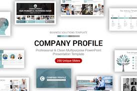 Company Overview Slides Company Profile Powerpoint Presentation Template Ciloart