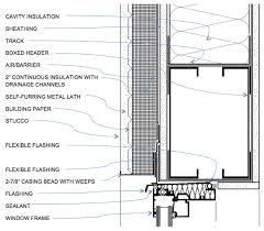 metal framing header detail.  Framing WINDOW HEAD DETAIL For Metal Framing Header Detail C