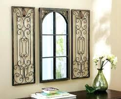 mirror wall art decor window wall art window mirror wall decor wrought iron wall decor rectangular mirror wall art