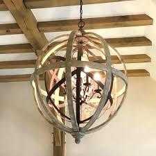 large orb chandelier cool plus round wooden with metal detail and sphere huge large orb chandelier