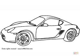 Coloriage Porsche Cayman Coloriages Imprimer Gratuits