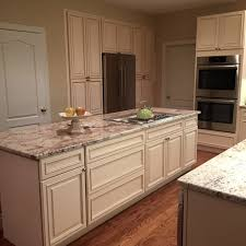 White Spring Granite Kitchen Granite White Springs Location Media Pa Cabinetry Fabuwood