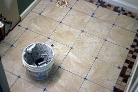 Tiling A Kitchen Floor How To Install Bathroom Floor Tile How Tos Diy