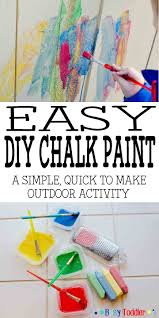 diy chalk paint make your own chalk paint in under 5 minutes a great