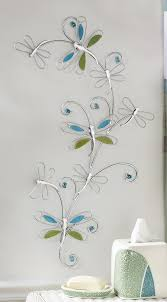 wall art ideas design colorful butterfly bathroom metal wall art dragonflies animal natural nature inspired hangable modern item fancy bathroom metal wall  on nature inspired metal wall art with wall art ideas design colorful butterfly bathroom metal wall art