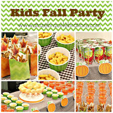 Kids Fall Party Ideas