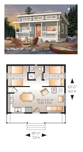 Small 2 Bedroom 2 Bath House Plans Tiny House Plan 76166 Total Living Area 480 Sq Ft 2 Bedrooms